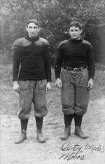 Two M.A.C. football players, circa 1900-1909