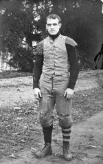 M.A.C. football player, circa 1900-1909