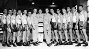 The men's boxing team, 1950
