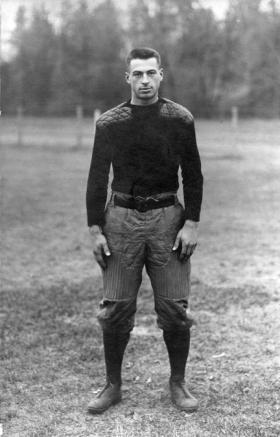 Wheeler, M.A.C. football player, circa 1900-1909 title=Wheeler, M.A.C. football player, circa 1900-1909