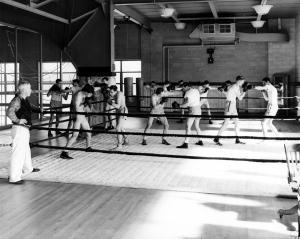 Men's Boxing Practice Gym