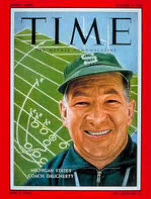 Duffy Daugherty Time Magazine Cover