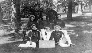 MAC tennis team, 1893<br />
