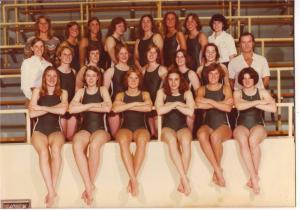 First Women's Swimming Team