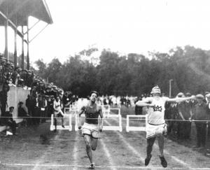 Track Meet at Old College Field
