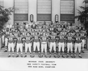 1955 Varsity Football Team