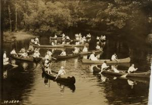 Canoeing the Red Cedar River<br />