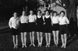 Women's volleyball team, date unknown